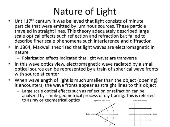 Nature of light1