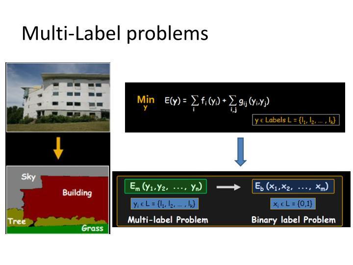 Multi-Label problems