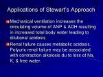 applications of stewart s approach1