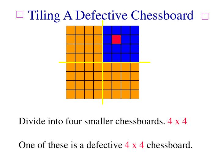 Tiling A Defective Chessboard