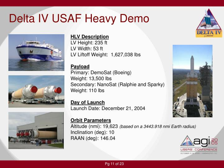 Delta IV USAF Heavy Demo