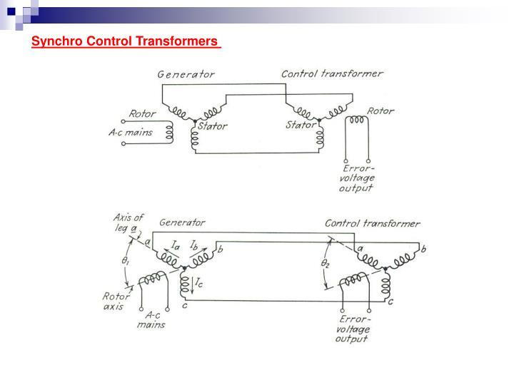 Synchro Control Transformers