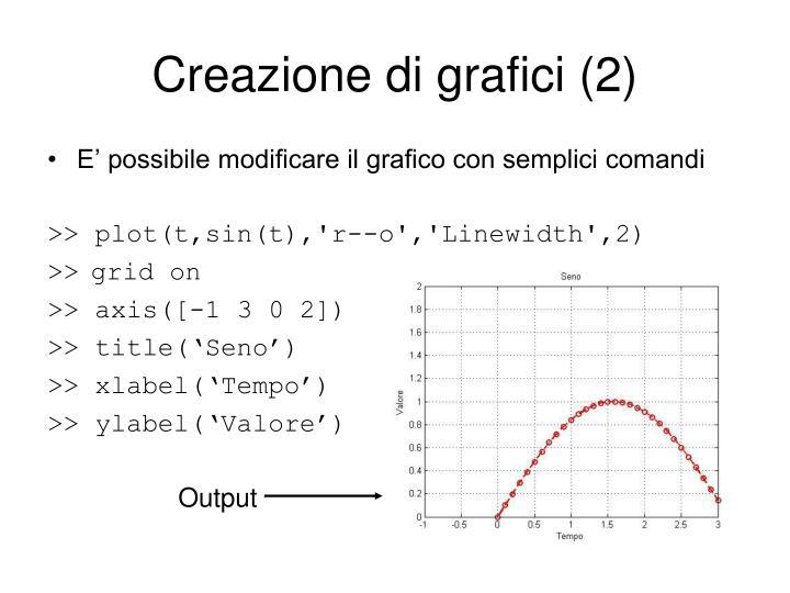 Creazione di grafici (2)