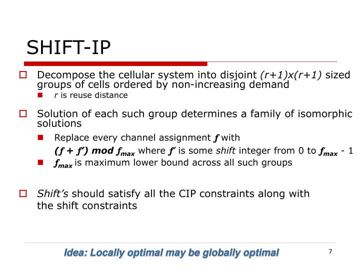 SHIFT-IP