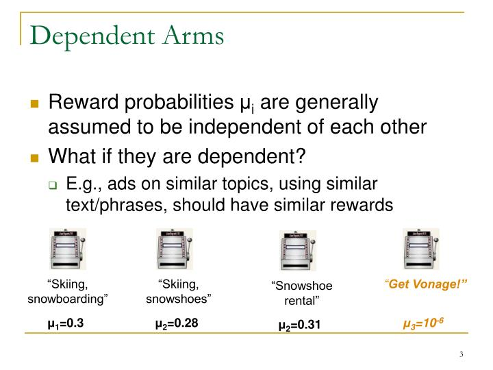 Dependent arms