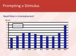 prompting a stimulus
