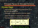 principal planes principal stresses