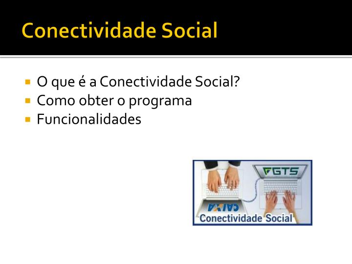 Conectividade Social
