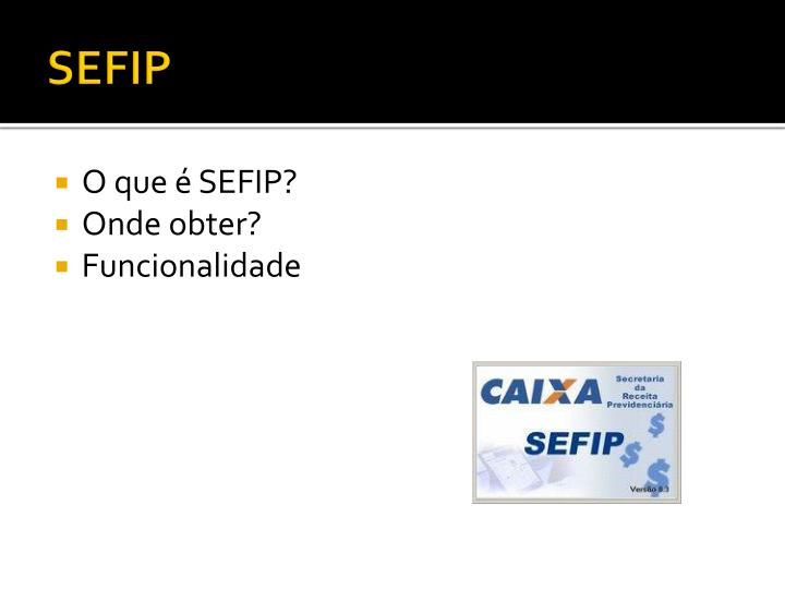 SEFIP