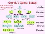 grundy s game states
