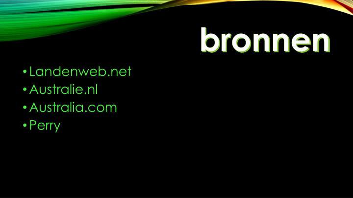 bronnen
