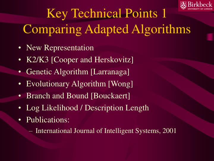 Key Technical Points 1