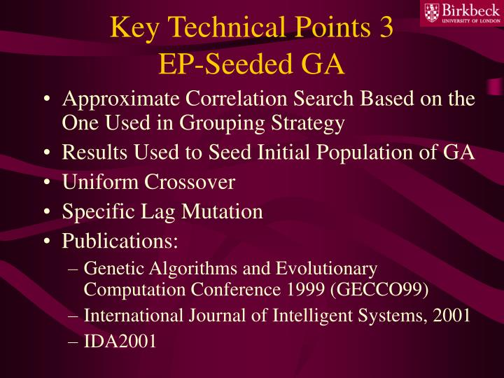 Key Technical Points 3