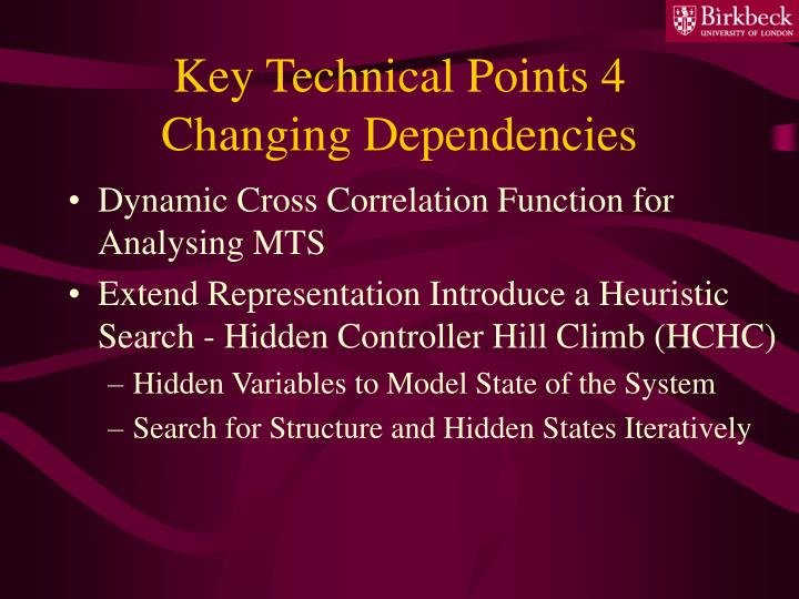 Key Technical Points 4