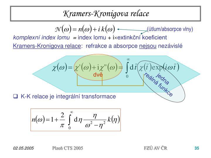 Kramers-Kronigov