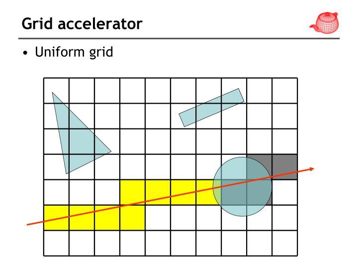 Grid accelerator