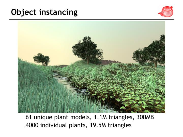 Object instancing