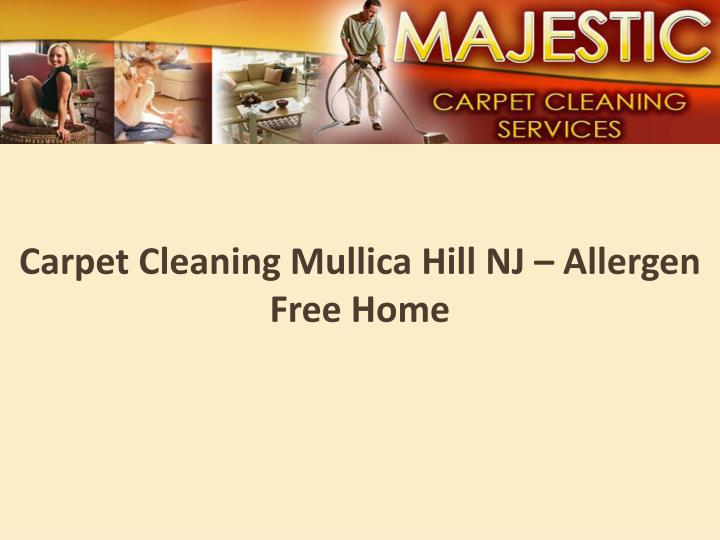 Carpet cleaning mullica hill nj allergen free home