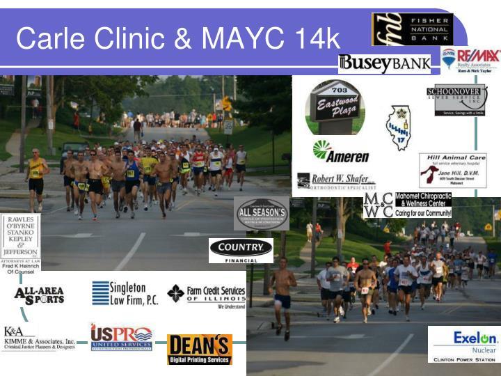 Carle clinic mayc 14k