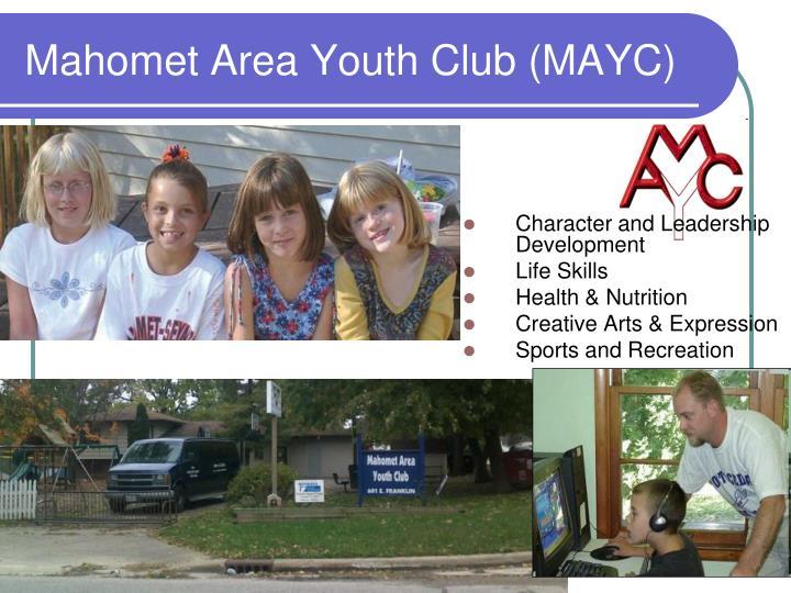 Mahomet area youth club mayc