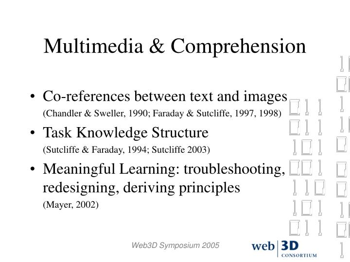 Multimedia & Comprehension