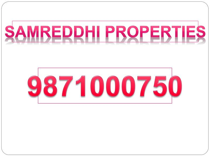 Samreddhi Properties