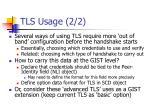 tls usage 2 2