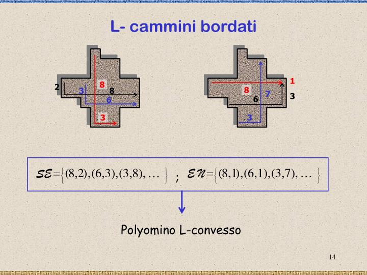 L- cammini bordati