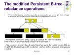 the modified persistent b tree rebalance operations2