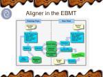 aligner in the ebmt