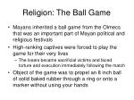 religion the ball game