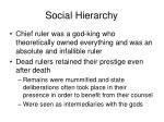 social hierarchy8
