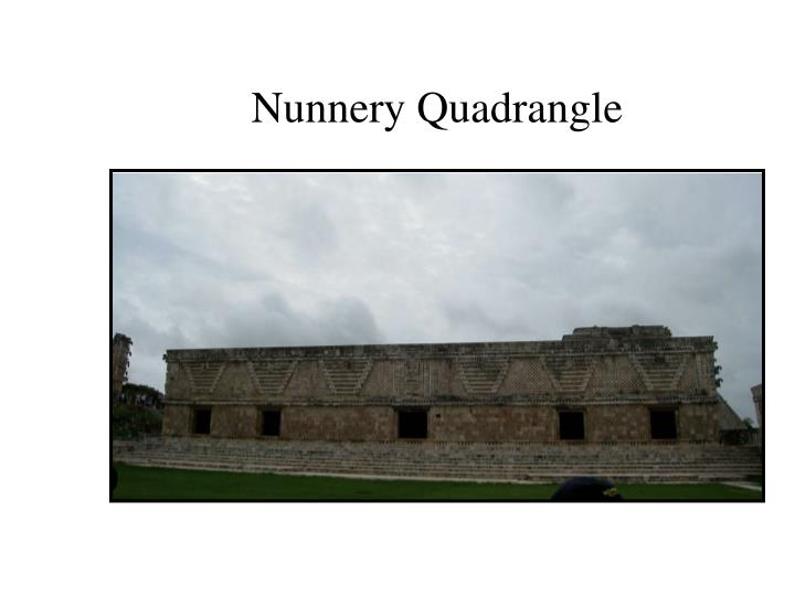 Nunnery Quadrangle