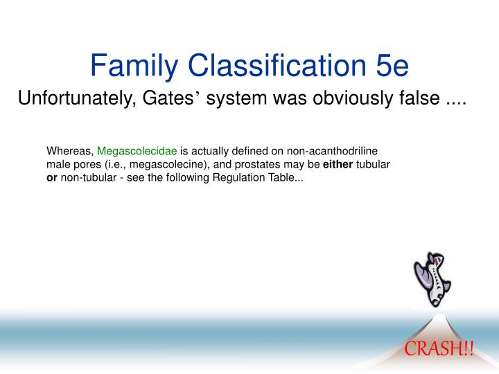 Family Classification 5e