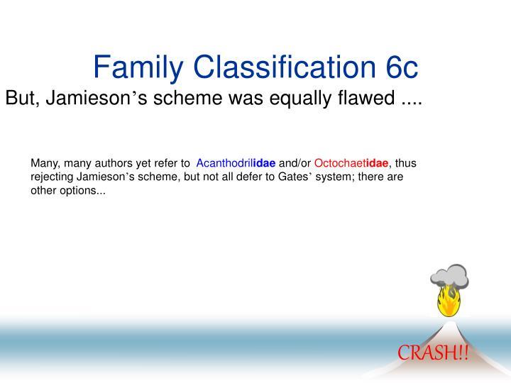 Family Classification 6c