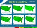 border consistency