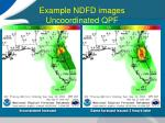 example ndfd images uncoordinated qpf