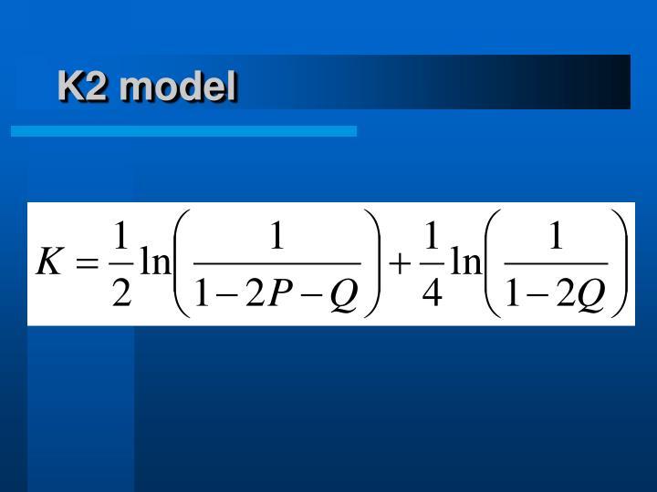 K2 model