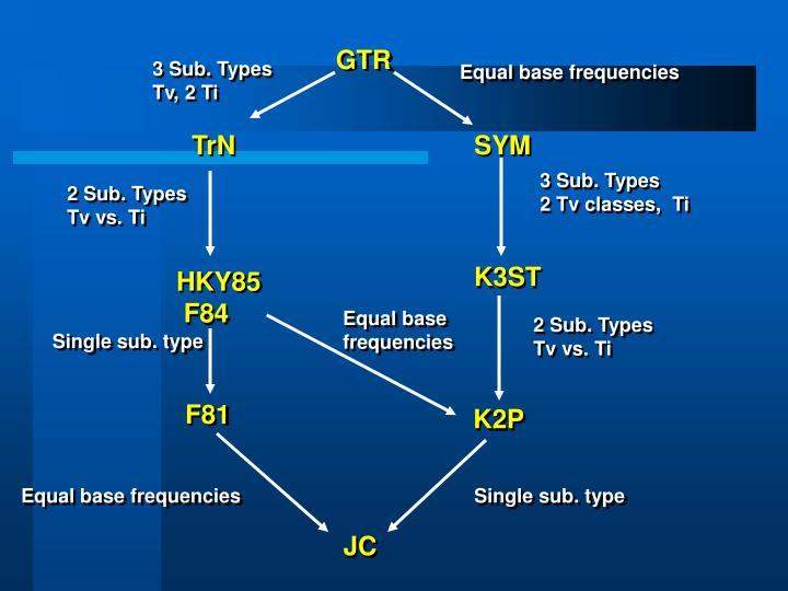 3 Sub. Types