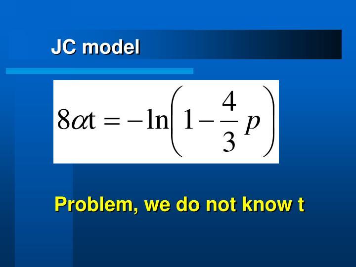 JC model