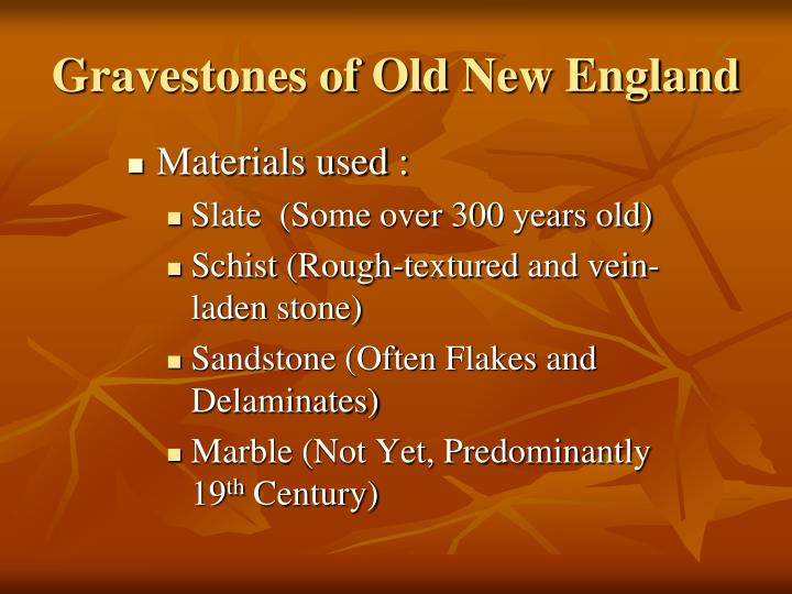 Gravestones of old new england2