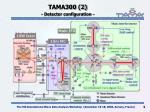 tama300 2 detector configuration