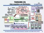 tama300 3 data acquisition and distribution