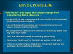 envoi postlude