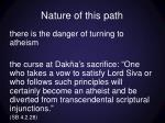 nature of this path4