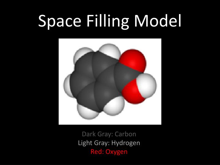 Space Filling Model
