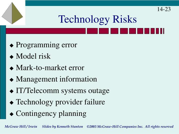 Technology Risks