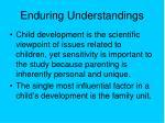 enduring understandings12