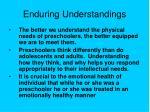 enduring understandings9