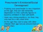 preschooler s emotional social development